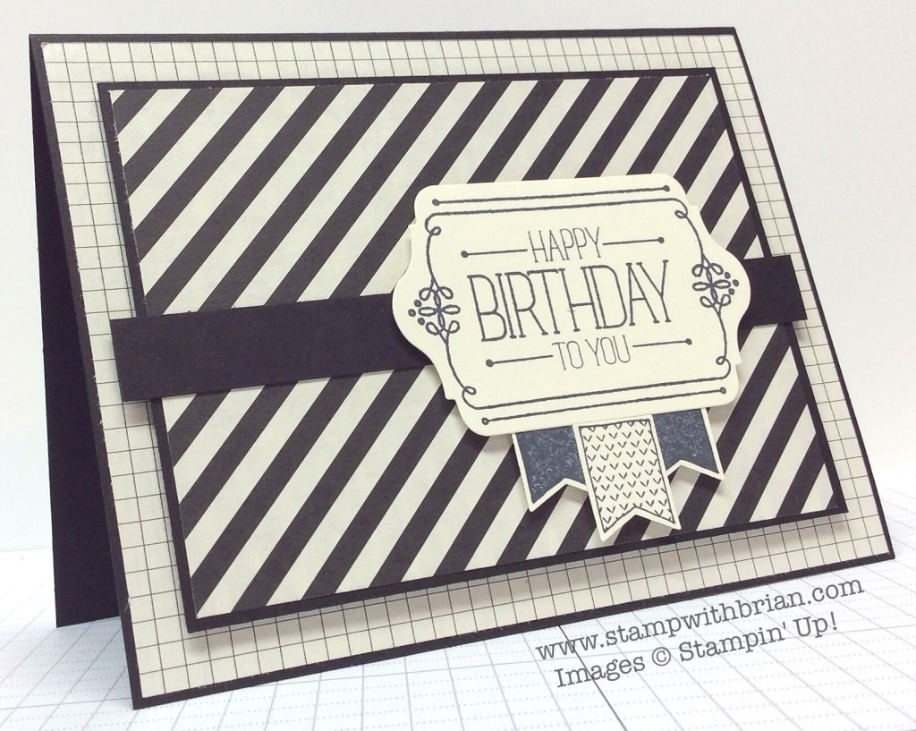 Because You Care, Itty Bitty Baby, Stampin' Up!, Brian King, PPA236