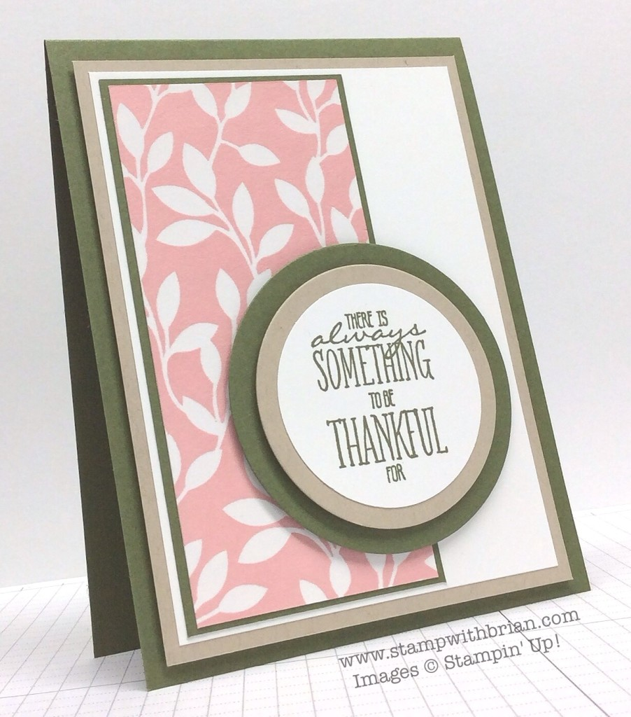 You Brighten My Day, Irresistibly Yours, Stampin' Up!, Brian King