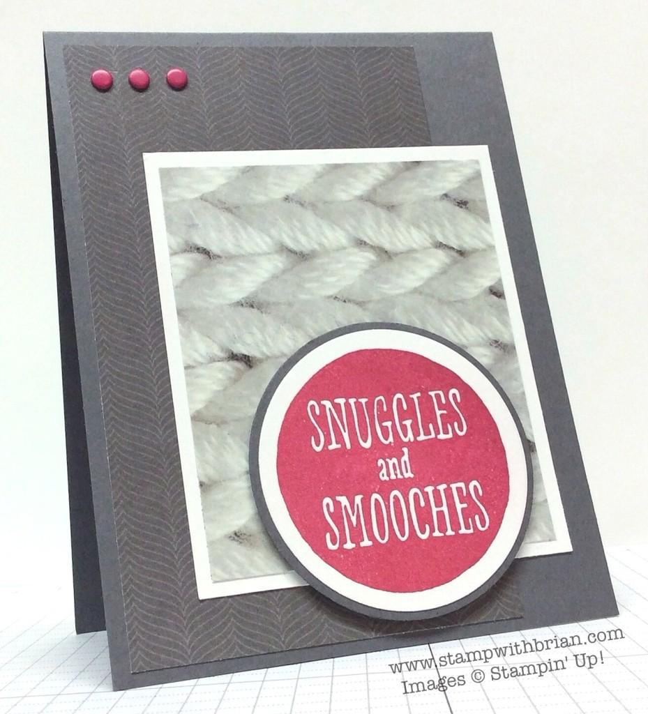 Snuggles and Smooches, Stampin' Up!, Brian King