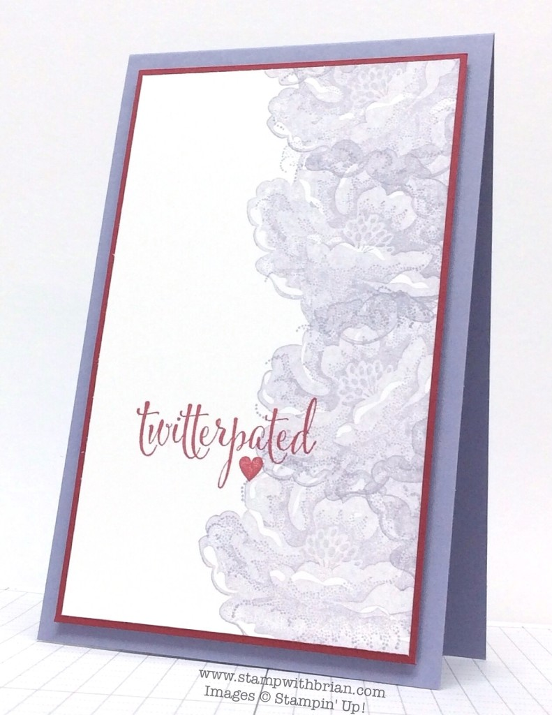 Stippled Blossoms, You Plus Me, Stampin' Up!, Brian King, CTS106