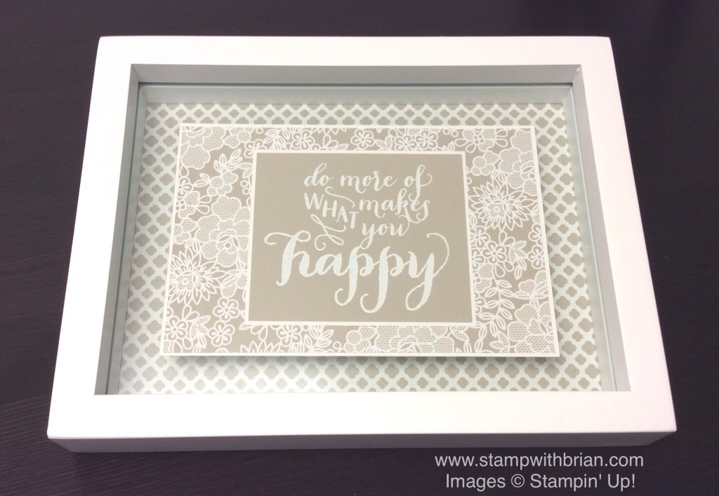 Hello Life, Stampin' Up!, Brian King, home decor