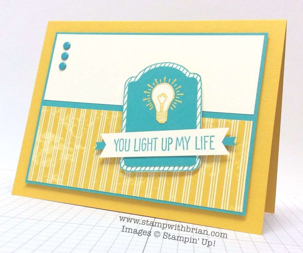 One Tag Fits All, You Brighten My Day, Stampin' Up!, Brian King, FMS170