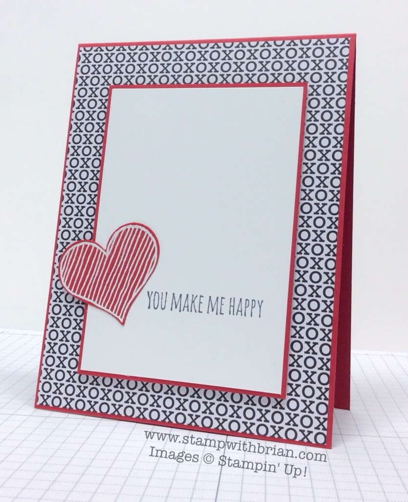 Epic Alphabet, Hello Love, Stampin' Up!, Brian King, CTS105