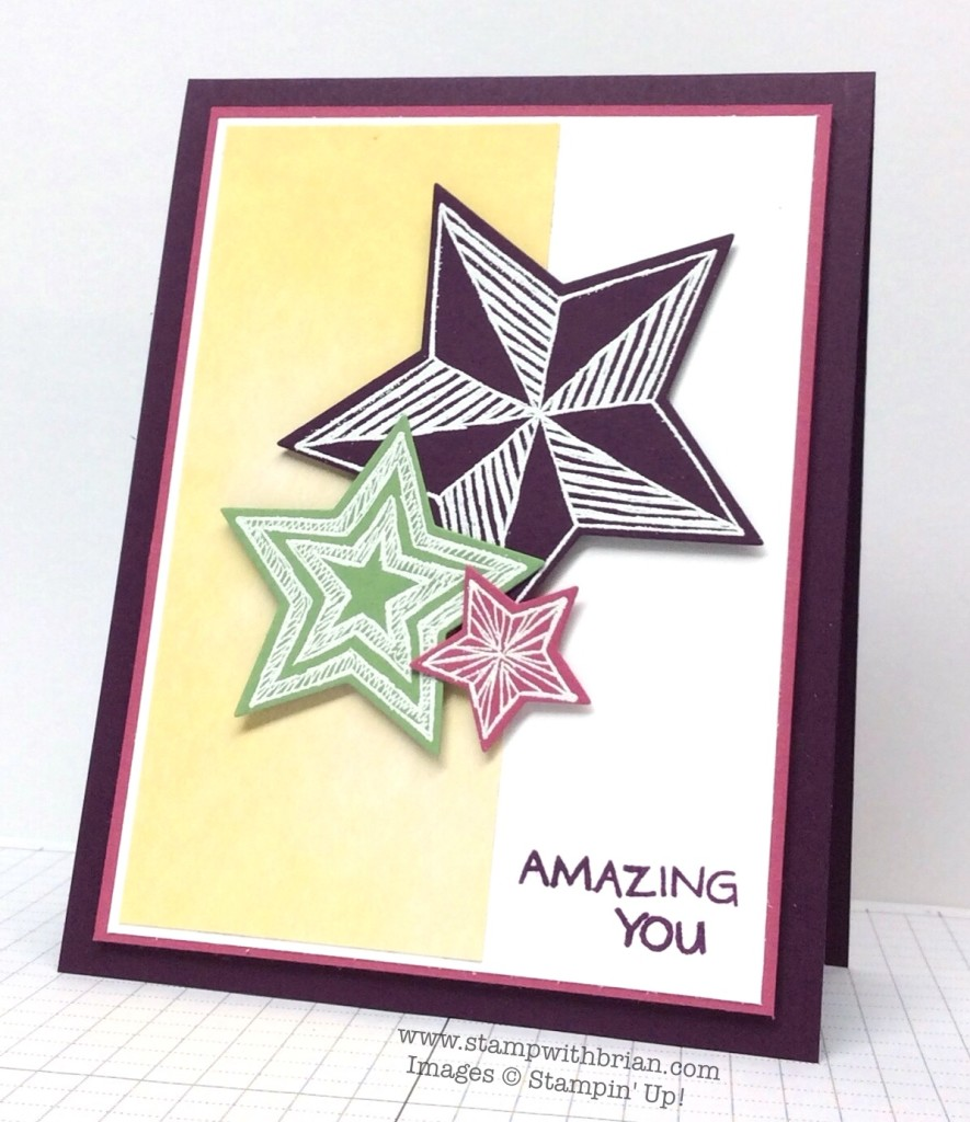 Be The Star, You're Wonderful, Stampin' Up!, Brian King, PPA240