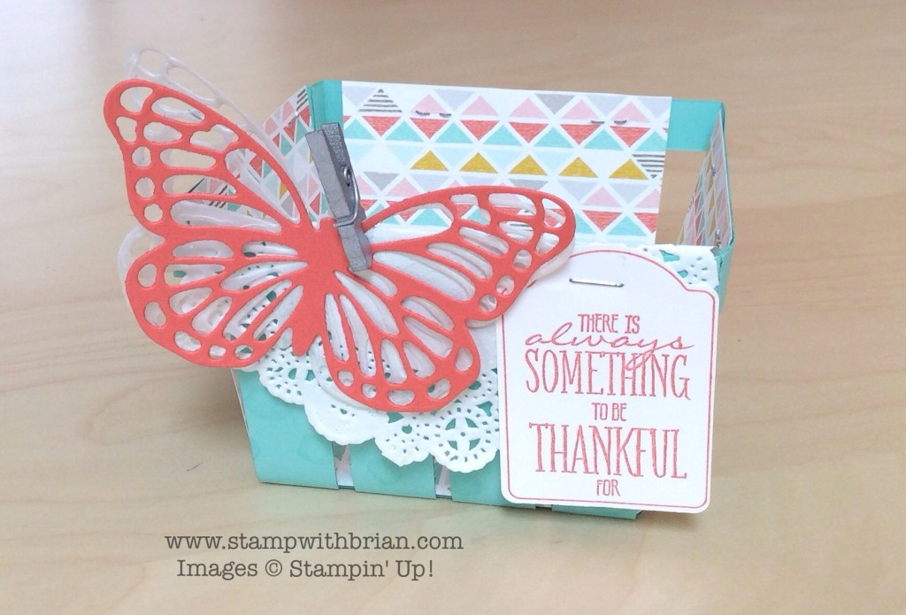 You Brighten My Day, Berry Basket Bigz L Die, Stampin' Up!, Brian King