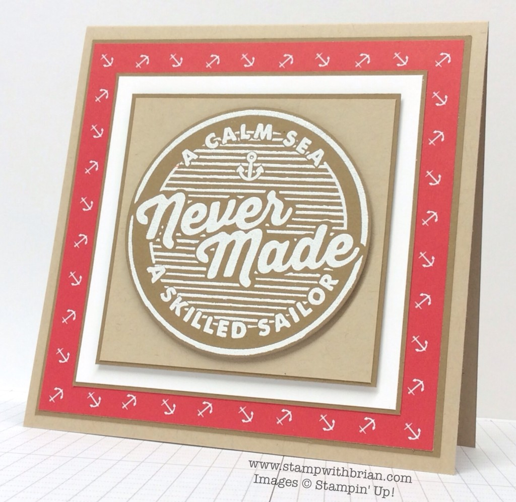 Adventure Awaits, Stampin' Up!, Brian King, PPA239