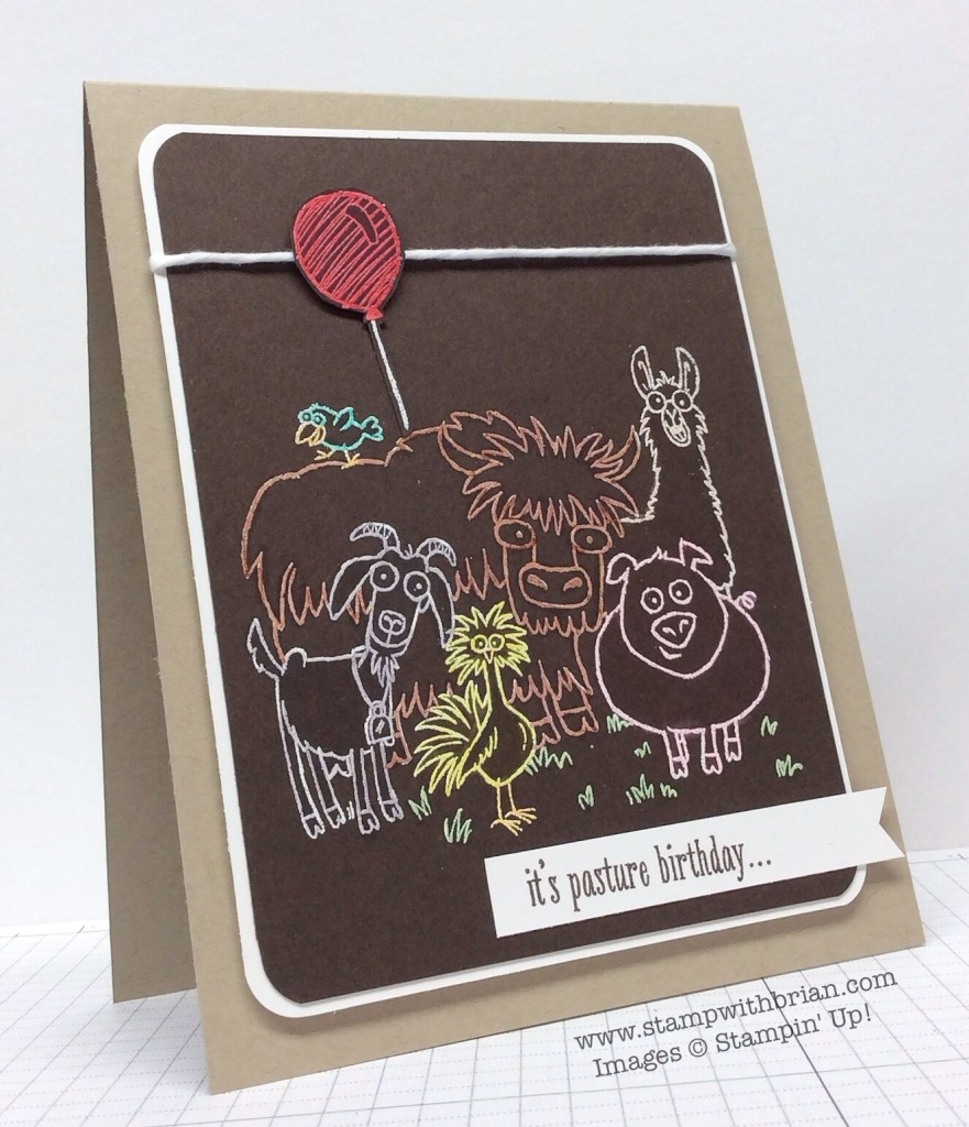 From the Herd, Stampin' Up!, Brian King, FMS175