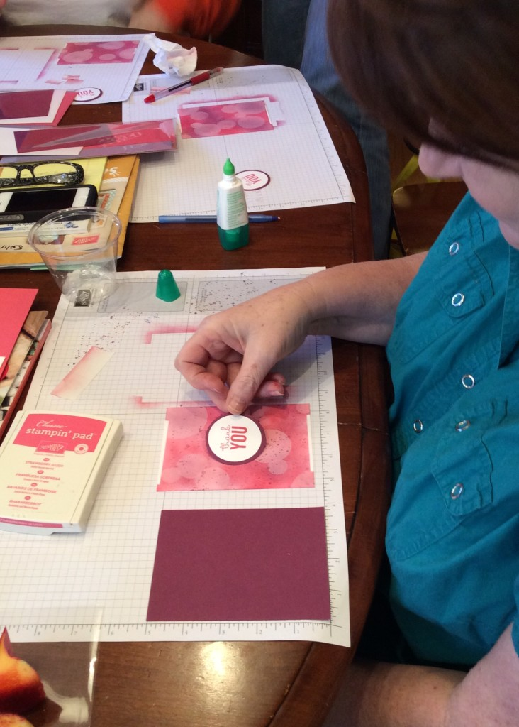 Bokeh with Stamp Club, Stampin' Up!, Brian King