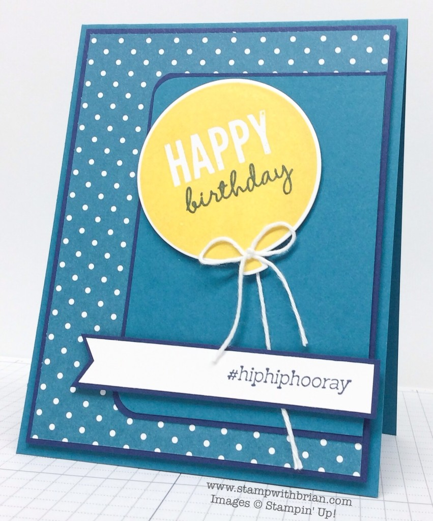 Celebrate Today, @SoSocial, Stampin' Up!, Brian King, FMS179