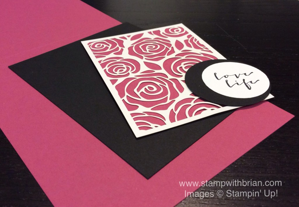 A Happy Thing, Artisan Embellishments Kit, Stampin' Up!, Brian King, TCC30