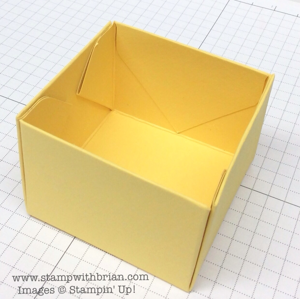 Creating An Open Top Box With The Punch Board Stampin Up Brian King