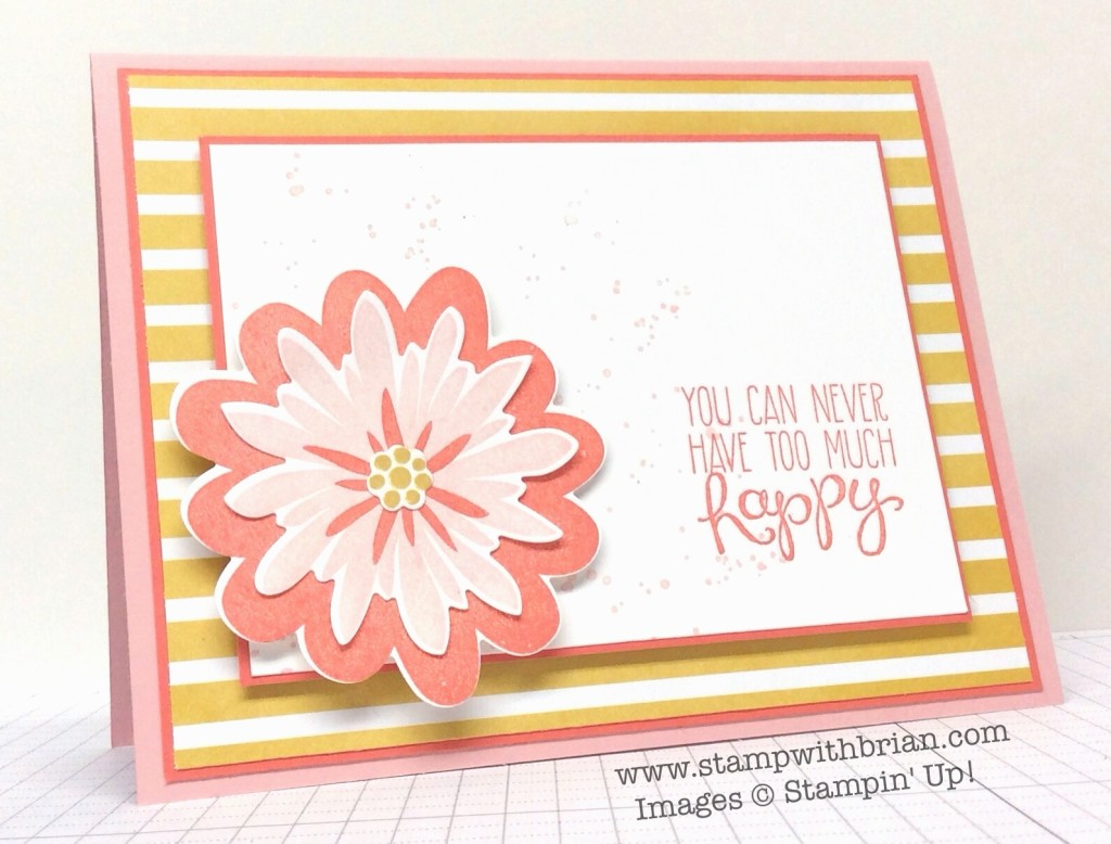 Flower Patch, Yippee-Skippee, Gorgeous Grunge, Stampin' Up!, Brian King, FabFri59
