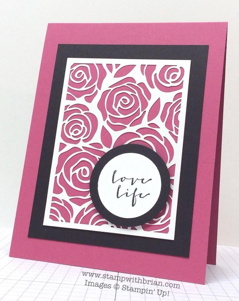A Happy Thing, Artisan Embellishments Kit, Stampin' Up!, Brian King, TCC30,JAI253