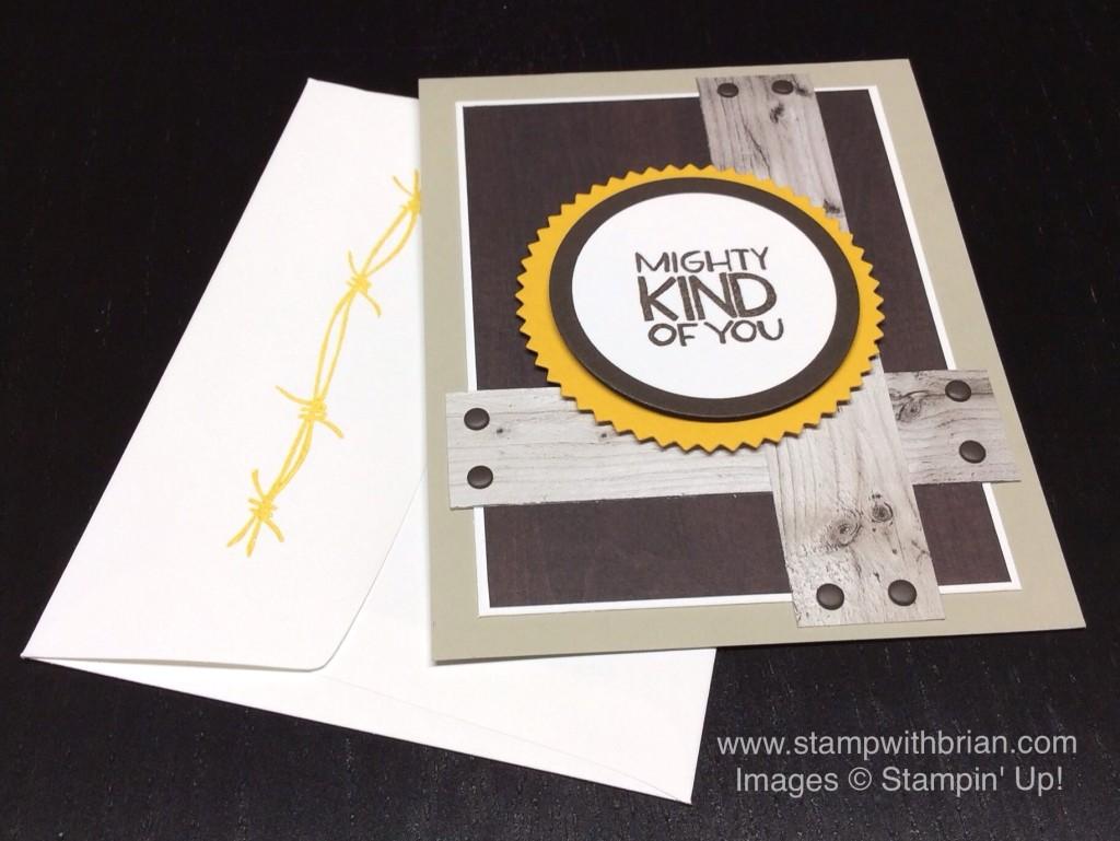 Yee-Haw, Stampin' Up!, Brian King, MOJO390
