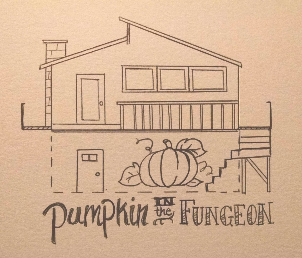 pumpkin in the fungeon
