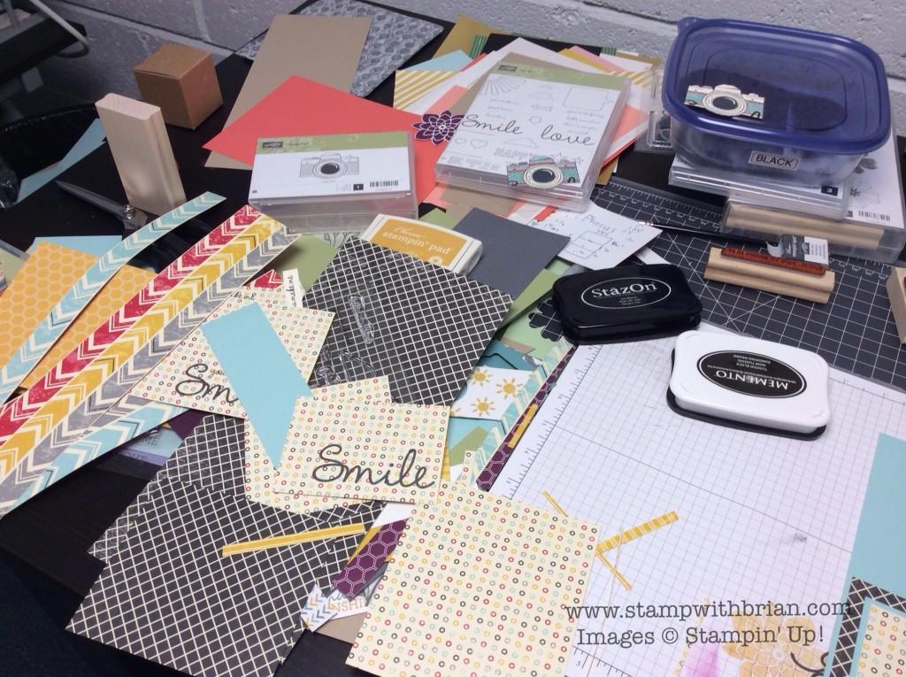 Snapshot, So You, Flashback Designer Series Paper, Stampin' Up!, Brian King