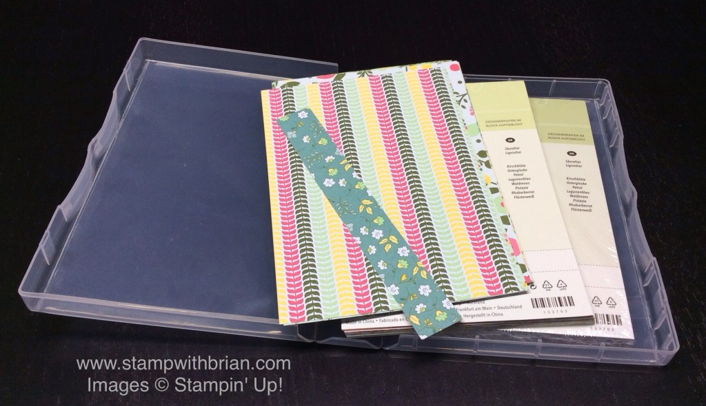 Paper Storage Ideas, Stampin' Up!, Brian King