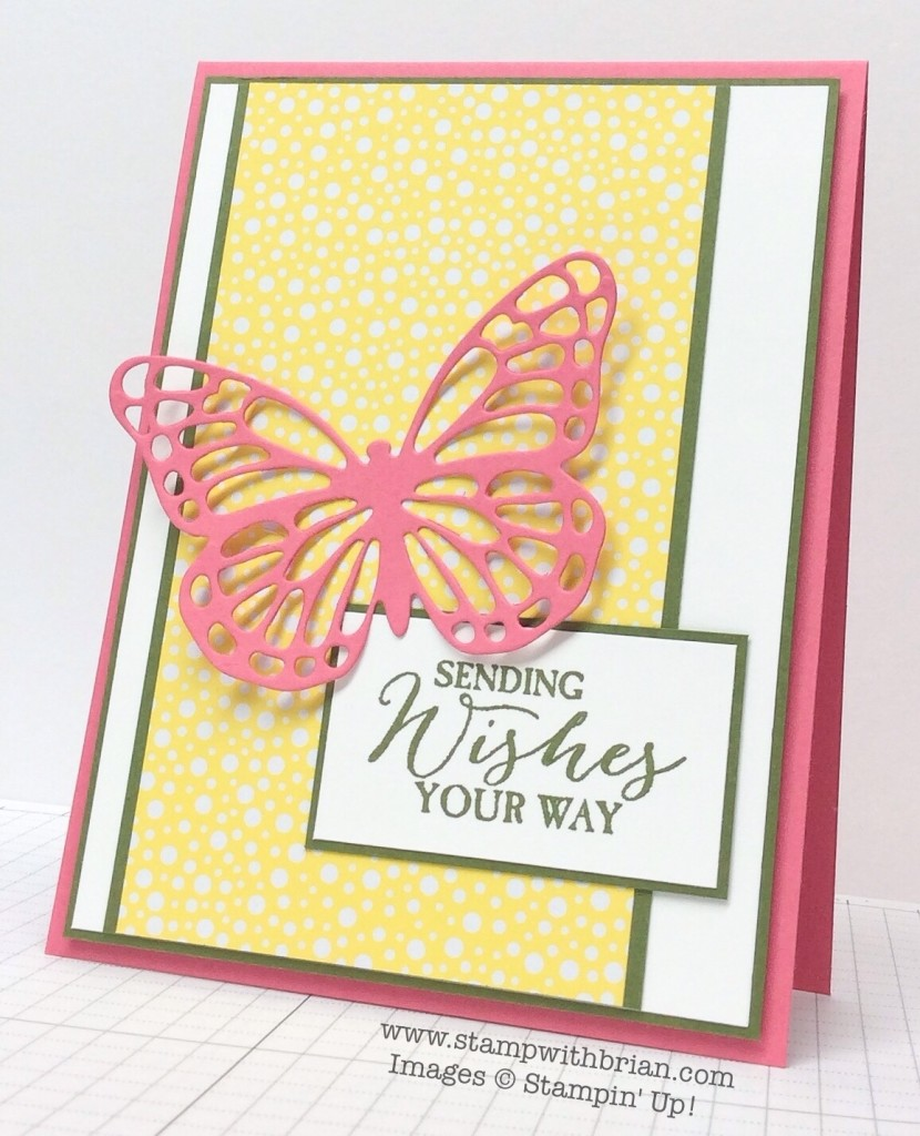 Butterfly Basics, Stampin' Up!, Butterflies Thinlits, Brian King, FMS182