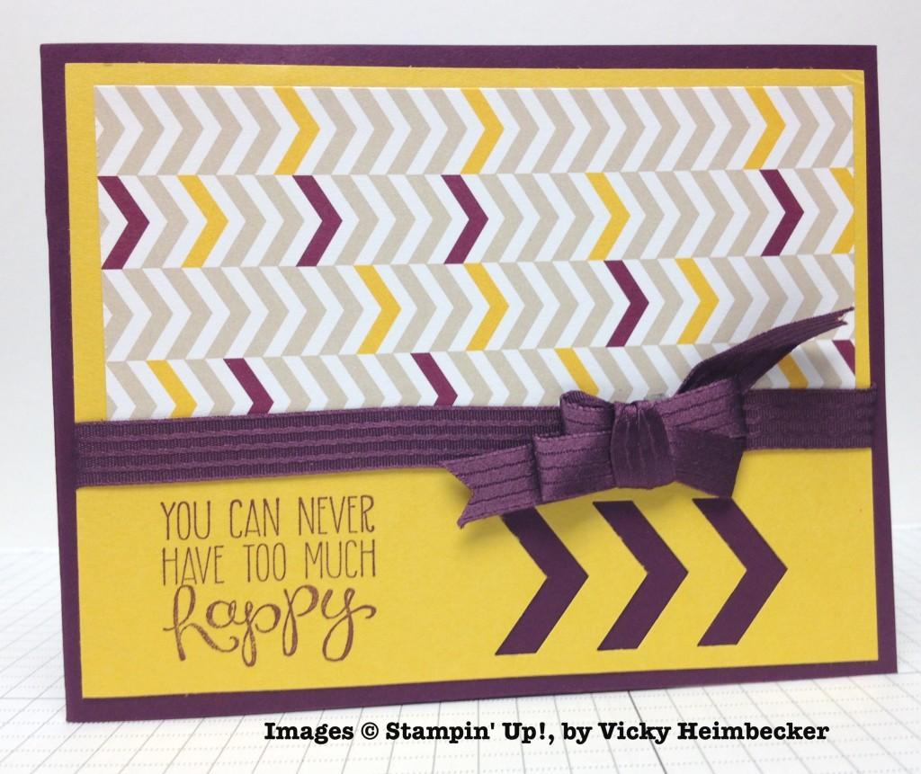 Vicky Heimbecker,card swap, Stampin' Up!