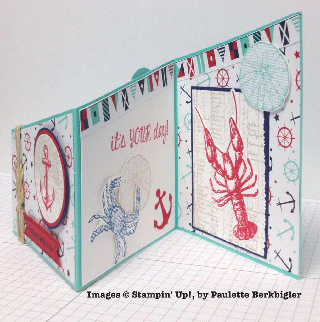 Paulette Berkbigler, card swap, Stampin' Up!