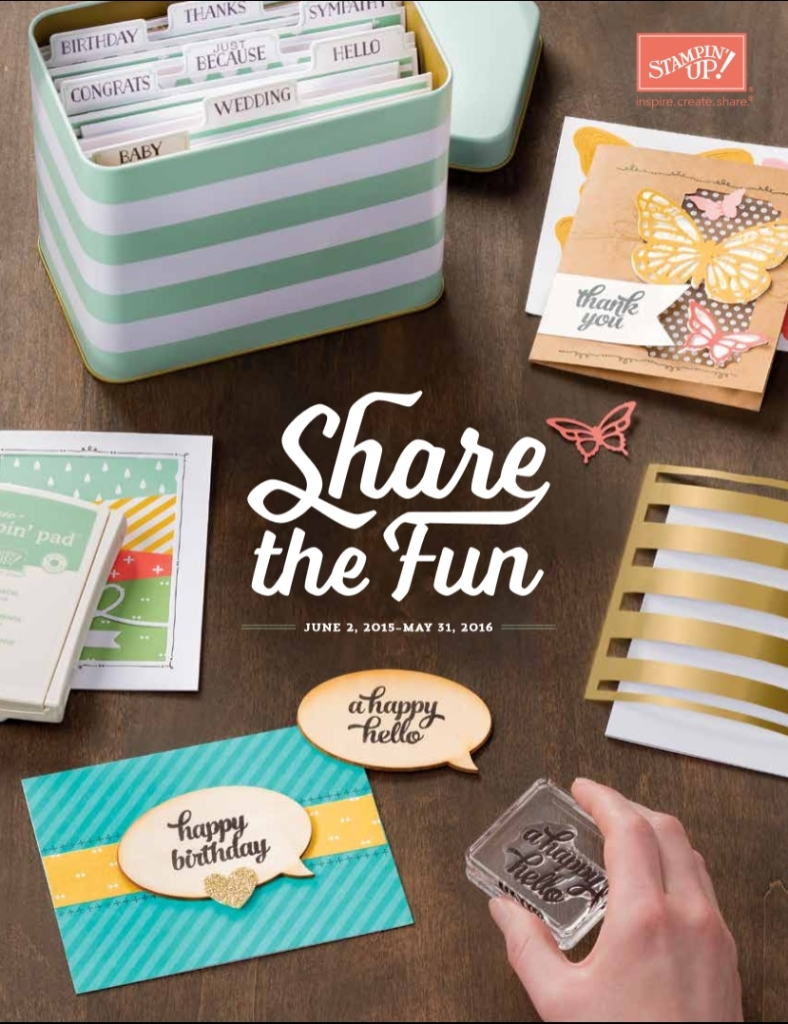 Stampin' Up!'s 2015-2016 Annual Catalog, Stampin' Up!, Brian King