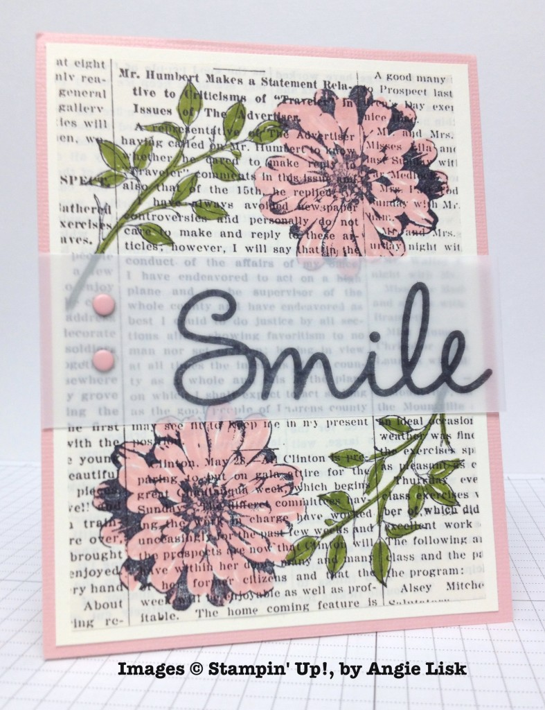 Angie Lisk, card swap, Stampin' Up!