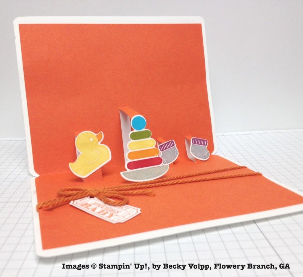 Becky Volpp, card swap, Stampin' Up!