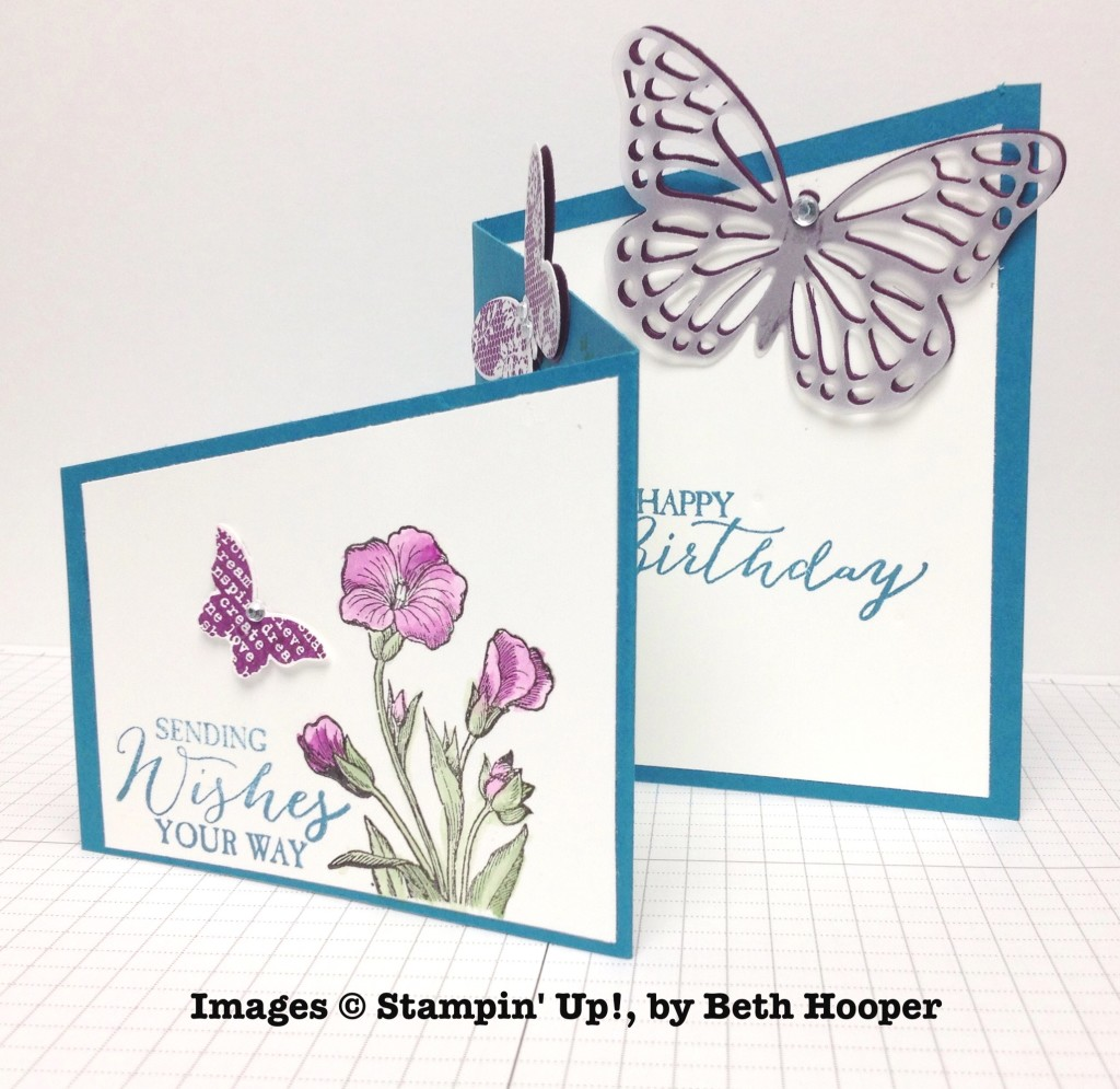 Beth Hooper, card swap, Stampin' Up!