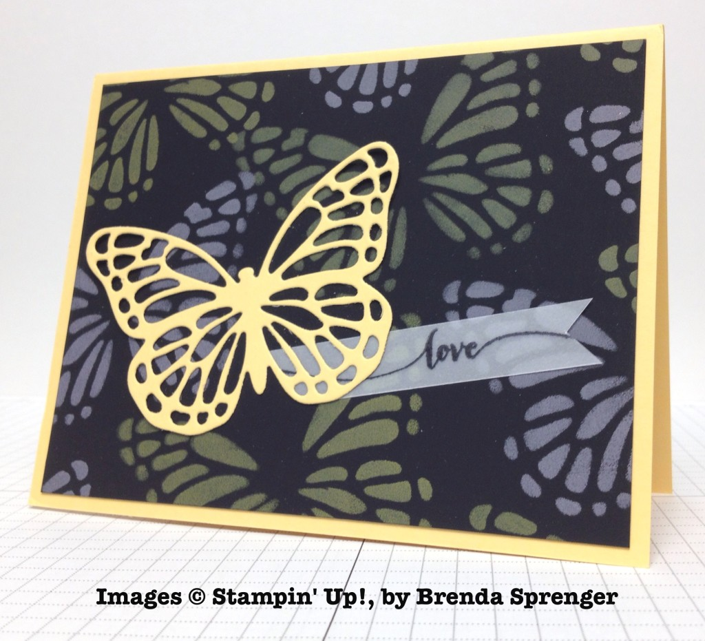 Brenda Sprenger, card swap, Stampin' Up!