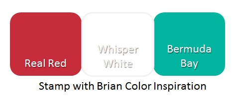 Color Inspiration, Stampin' Up!, Brian King
