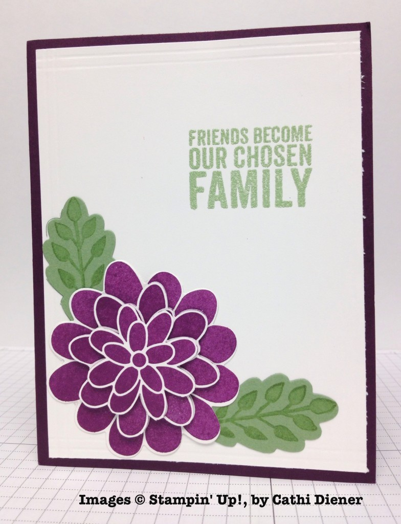 Cathi Diener, card swap, Stampin' Up!