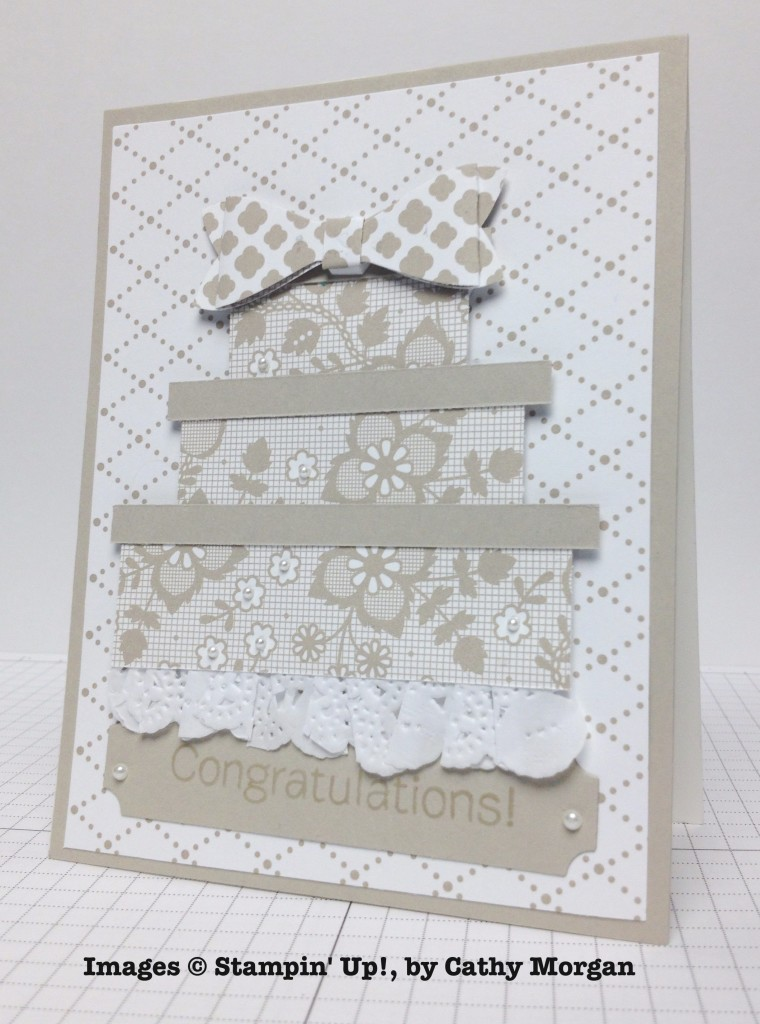 Cathy Morgan, card swap, Stampin' Up!