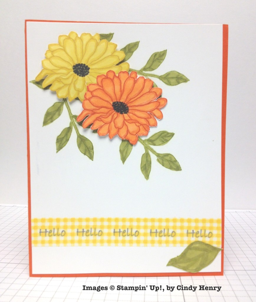 Cindy Henry, card swap, Stampin' Up!