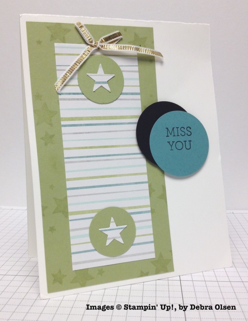 Debra Olsen, card swap, Stampin' Up!