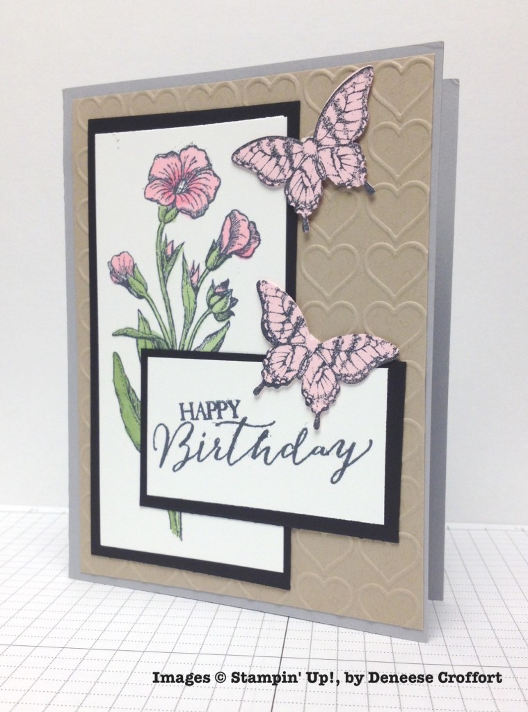 Deneese Croffort, card swap, Stampin' Up!