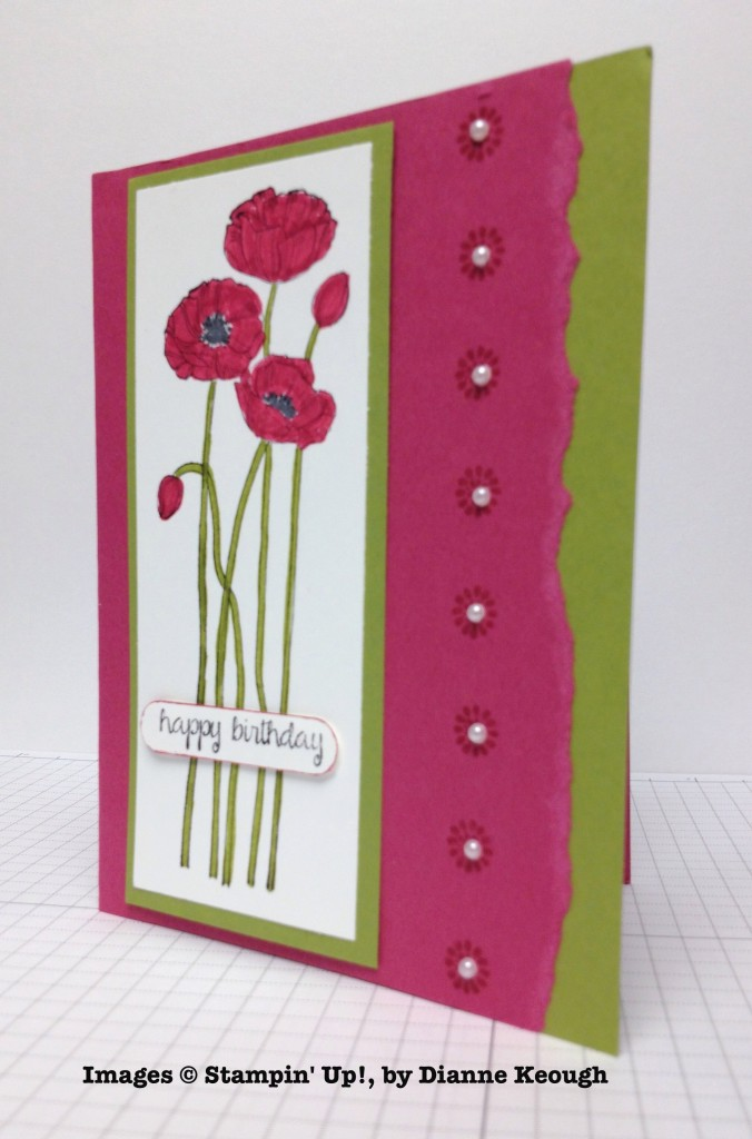 Dianne Keough, card swap, Stampin' Up!