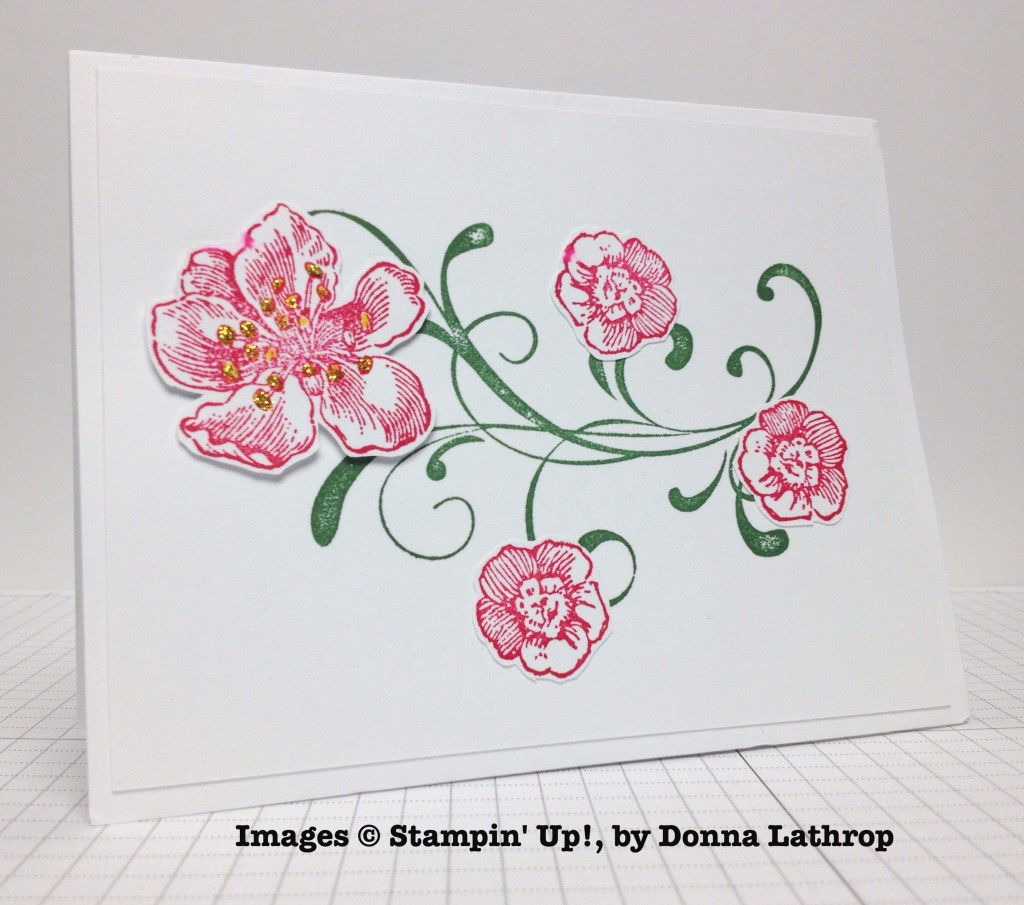 Donna Lathrop, card swap, Stampin' Up!