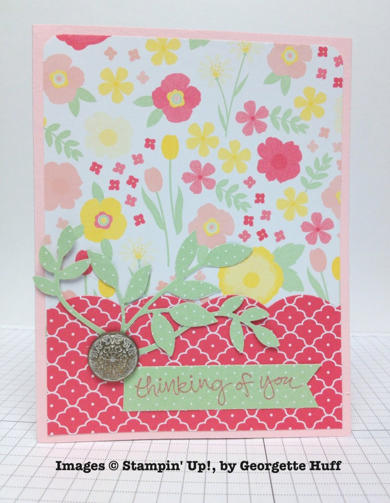 Georgette Huff, card swap, Stampin' Up!