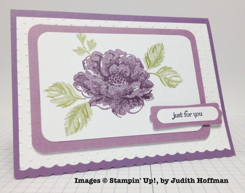 Judith Hoffman, card swap, Stampin' Up!