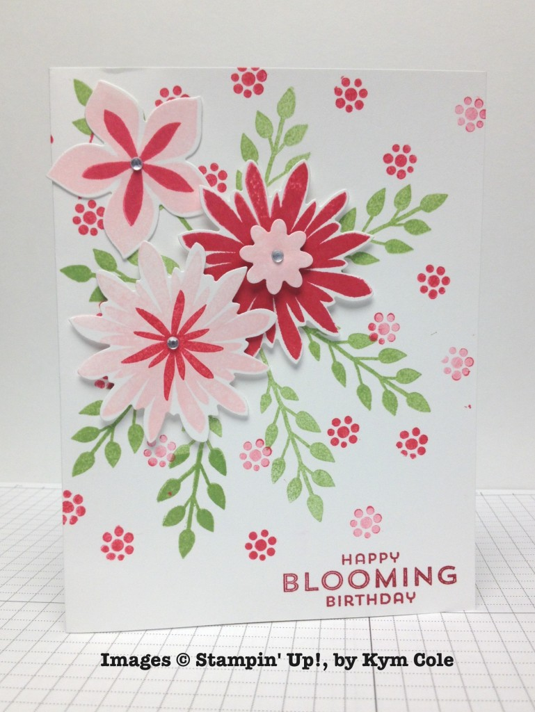 Kym Cole, card swap, Stampin' Up!