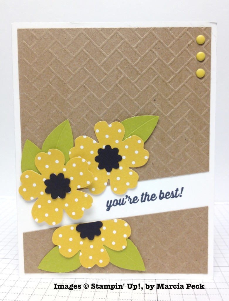 Marcia Peck, card swap, Stampin' Up!
