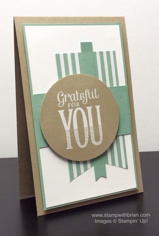 Merry Everything, Stampin' Up!, Brian King, MOJO399