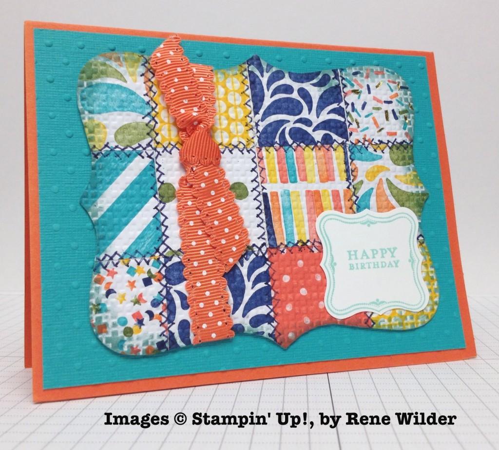 Rene Wilder, card swap, Stampin' Up!