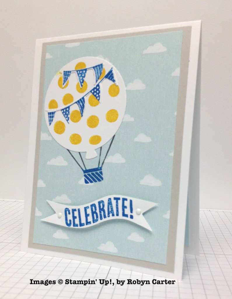 Robyn Carter, card swap, Stampin' Up!