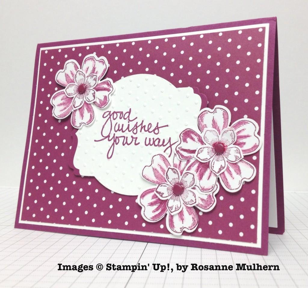 Rosanne Mulhern, card swap, Stampin' Up!