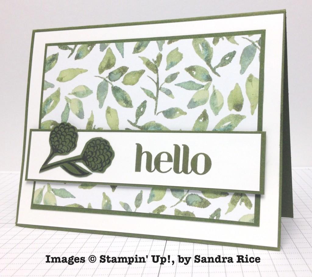Sandra Rice, card swap, Stampin' Up!