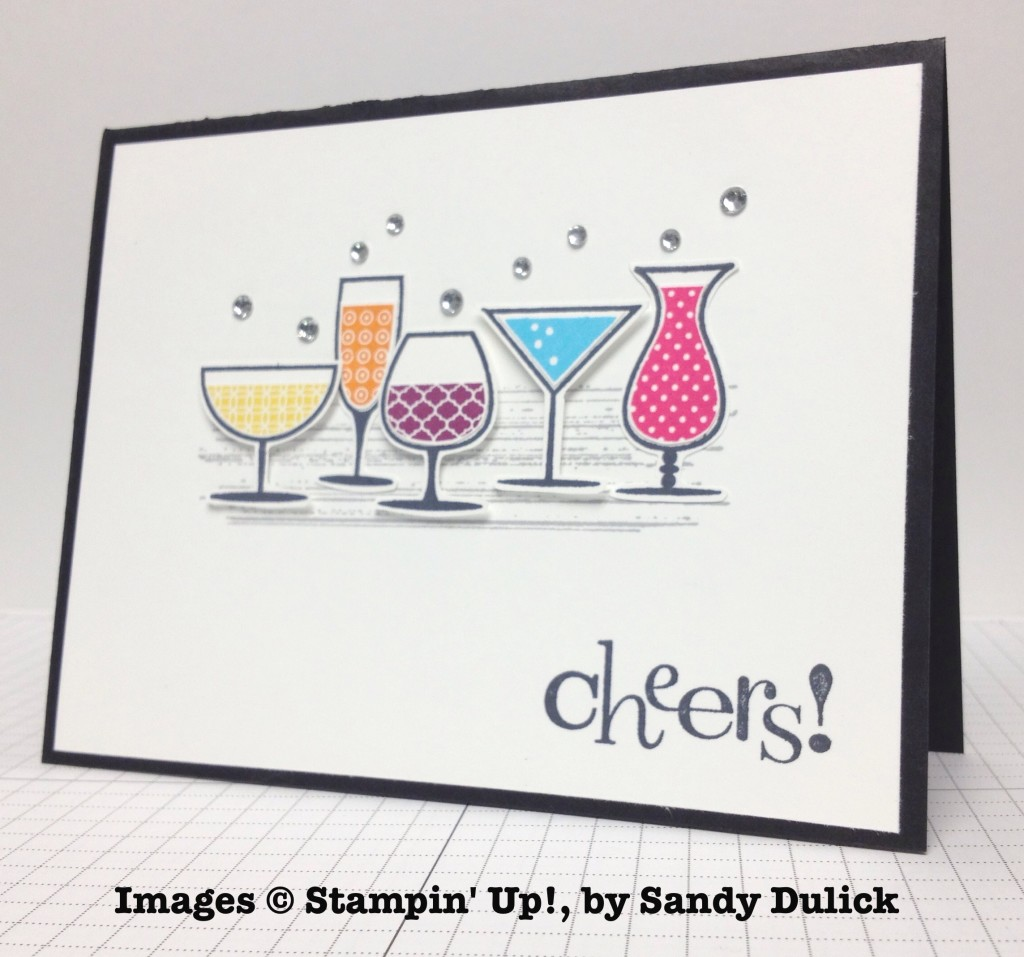 Sandy Dulick, card swap, Stampin' Up!