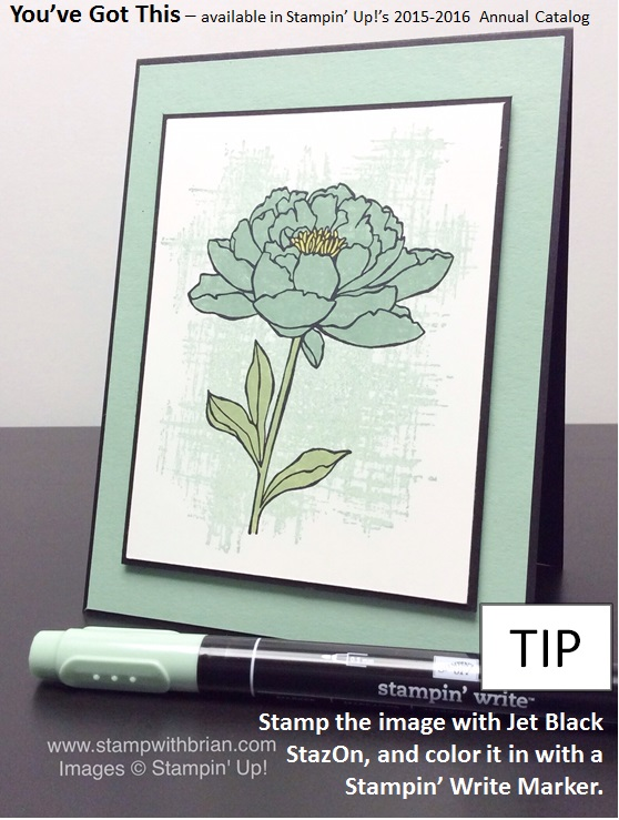 You've Got This, Stampin' Up!, Brian King, Sneak Peek