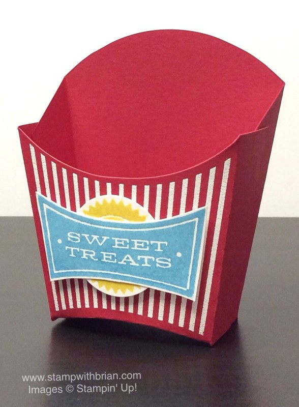 All About Sugar, Fry Box Bigz L Die, Stampin' Up!, Brian King