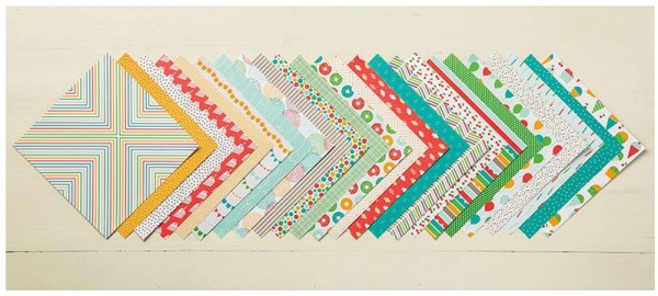 Cherry on Top Designer Series Paper Stack, Stampin' Up!